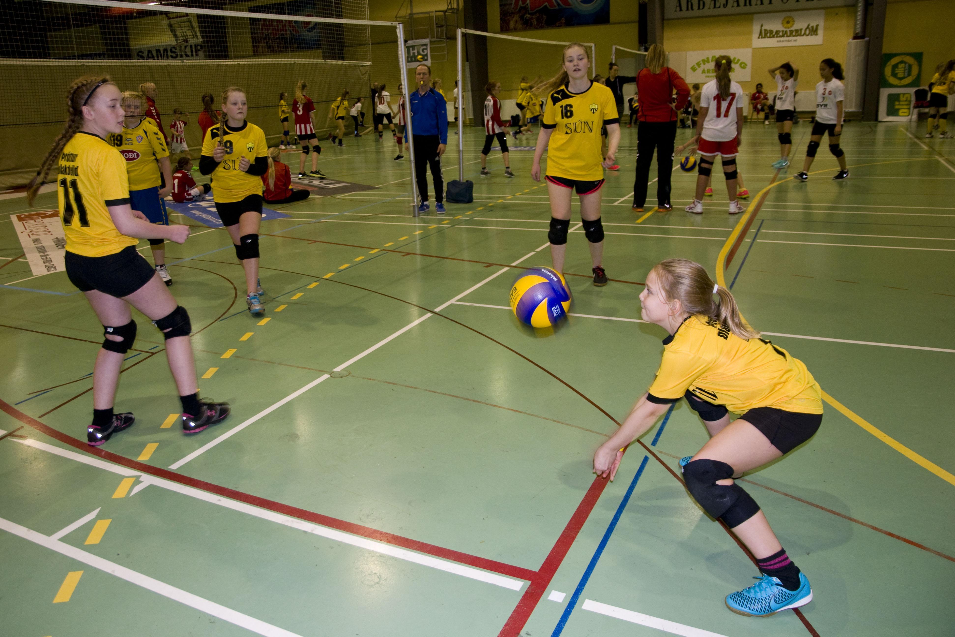 Posiciones basicas del voleibol