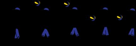 secuencia saque flotante color